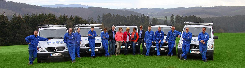 Unser Team - Enders Heizung Sanitär GmbH & Co. KG in Olpe